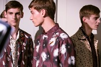 Valentino SS15 Mens collections, Dazed backstage 12