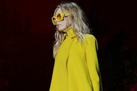 Versace AW15 Dazed runway womenswear sunglasses yellow 10