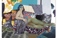 Mickalene ThomasCourbet 3 (Sleep)_1