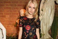 Lottie Moss attending Burberry and Dazed Party at 5