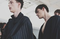 Craig Green SS15 Mens collections, Dazed backstage 8