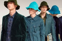 Burberry Prorsum SS15 Mens collections, Dazed backstage 6