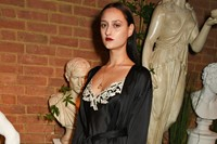 Jess Maybury attending Burberry and Dazed Party at 3