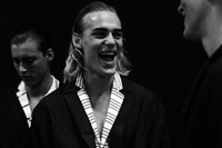 Emporio Armani SS15 Mens collections, Dazed backstage 15