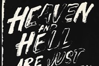 Andy Warhol, Heaven and Hell Are Just One Breath Away 2