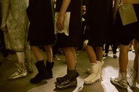 Rick Owens SS15 Mens collections, Dazed backstage 23