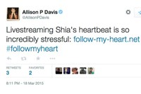 Tweets from #FollowMyHeart Shia LaBeouf 4