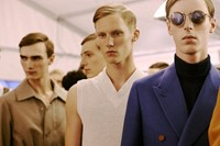 Louis Vuitton SS15 Mens collections, Dazed backstage 2