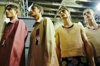 Raf Simons SS15 Mens collections, Dazed backstage 8