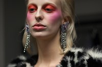 Backstage Ashley Williams AW18 London show womenswear