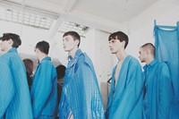 Craig Green SS15 Mens collections, Dazed backstage 20