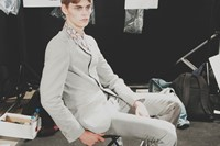 Topman SS15 Mens collections, Dazed backstage 20