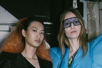 Backstage at the AW20 Rick Owens fashion show 21 20