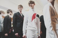 Alexander McQueen SS15 Mens collections, Dazed backstage 5