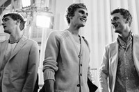 Hermès SS15 Mens collections, Dazed backstage 4