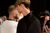 MAN SS15 Mens collections, Dazed backstage 0