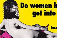 Guerrilla Girls, Do Women have to be Naked to Get Into the M 5