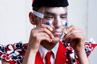 Thom Browne SS15 Mens collections, Dazed backstage 0