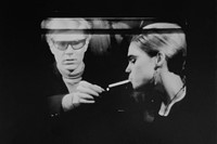 David McCabe, Andy Warhol & Edie Sedgwick, 'On the Norelco 0