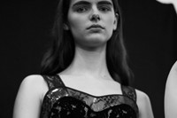 Christopher Kane AW18 lfw fashion week backstage London 2