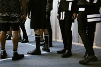 Givenchy SS15 Mens collections, Dazed backstage 24