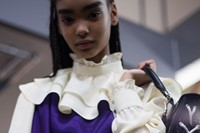 JW Anderson AW18 lfw fashion week show backstage 0