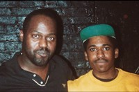 Frankie Knuckles at high school party