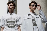 Neil Barrett SS15 Mens collections, Dazed backstage 3