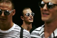 Emporio Armani SS15 Mens collections, Dazed backstage 18