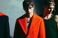 Raf Simons SS15 Mens collections, Dazed backstage 10