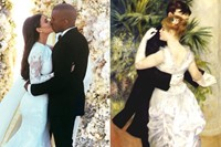 Dance in the City (1883) / Kim And Kanye's Wedding 1