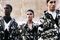 Givenchy SS15 Mens collections, Dazed backstage 1