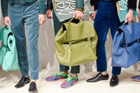 Burberry Prorsum SS15 Mens collections, Dazed backstage 19