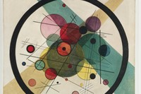 2. Wassily Kandinksy Circles in a Cirle, 1923, 0