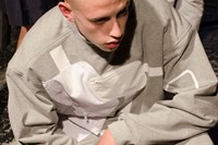 Christopher Shannon SS15 Mens collections, Dazed backstage 13