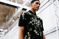 Givenchy SS15 Mens collections, Dazed backstage 5