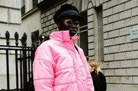 Yu Fujiawara street style London Fashion Week 7