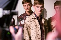 Valentino SS15 Mens collections, Dazed backstage 19
