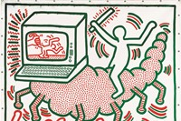 Keith Haring, Tate Liverpool 2