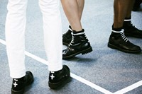 Givenchy SS15 Mens collections, Dazed backstage 26