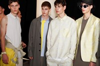 Wooyoungmi SS15 Mens collections, Dazed backstage 7