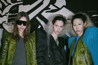 Backstage at the AW20 Rick Owens fashion show 12 11