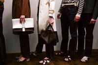 Prada SS15 Mens collections, Dazed backstage 32