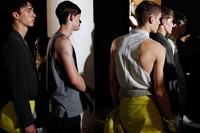 Wooyoungmi SS15 Mens collections, Dazed backstage 14