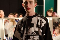 Christopher Shannon SS15 Mens collections, Dazed backstage 6