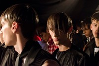 MAN SS15 Mens collections, Dazed backstage 4