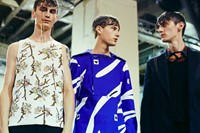 Raf Simons SS15 Mens collections, Dazed backstage
