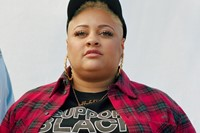 I Support Black Women by Trinice McNally and Off-White 2