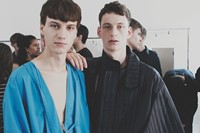 Craig Green SS15 Mens collections, Dazed backstage 18