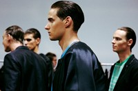 Emporio Armani SS15 Mens collections, Dazed backstage 10